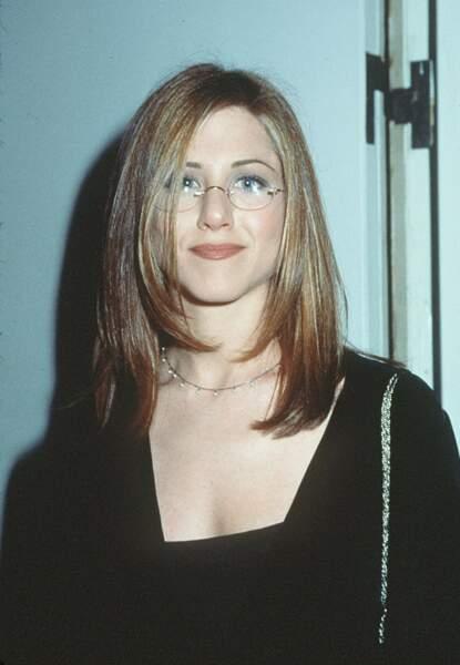 1997, Jennifer Aniston au début de la gloire avec sa coupe Rachel améliorée
