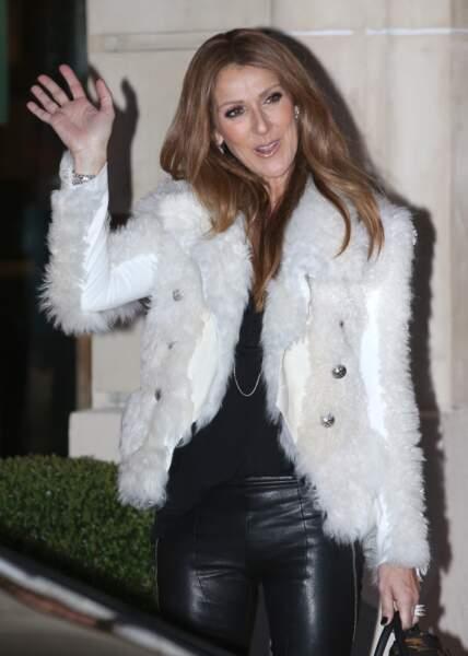 Céline Dion à Paris, en 2013