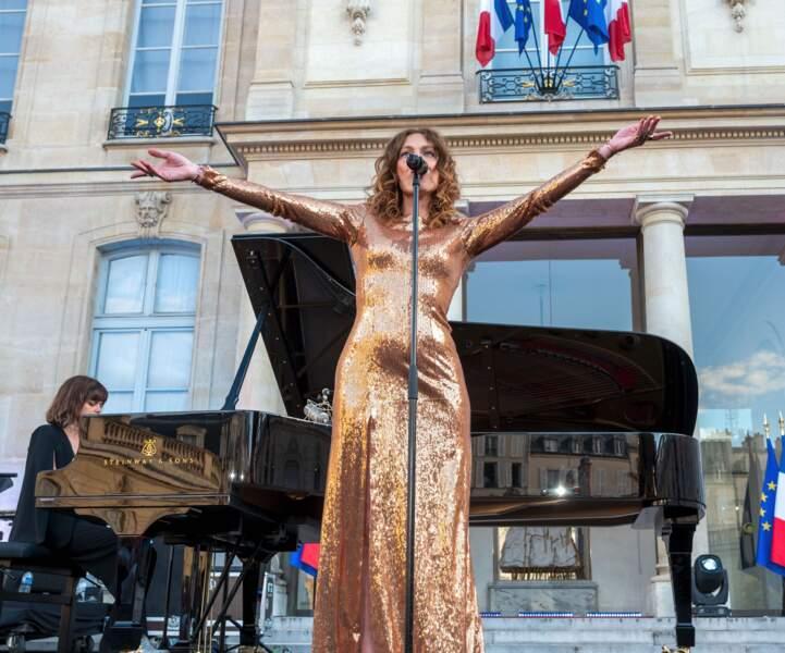 Les Brigitte sur la scène de l'Elysée pour célébrer la Fête de la musique