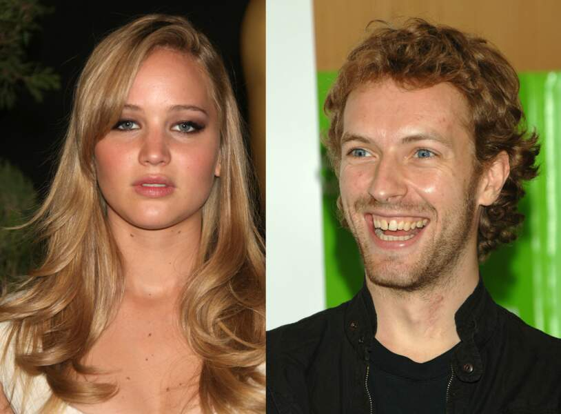 Jennifer Lawrence et Chris Martin