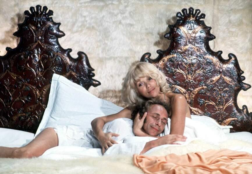 """""""Le retour du grand blond, avec Mireille Darc, 1974"""