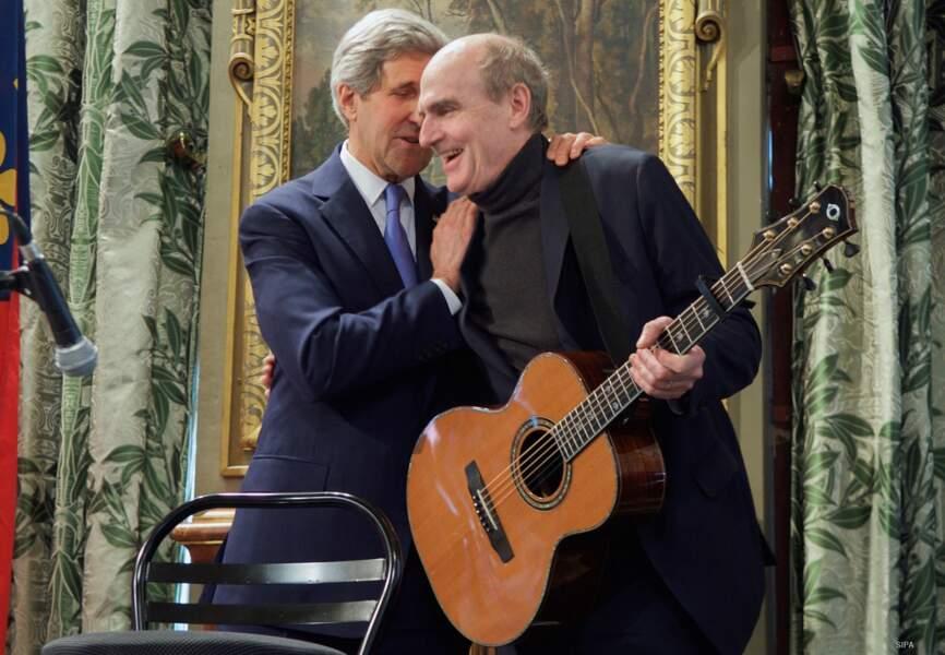 L'artiste James Taylor a symbolisé le soutien des USA avec le titre You've got a friend
