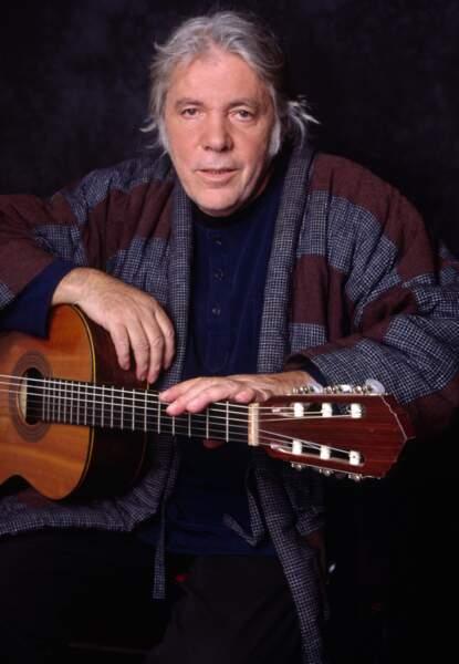 Le musicien, producteur et comédien Pierre Barouh (disparu le 28 décembre 2016)