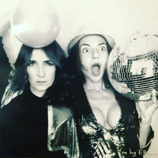 Mademoiselle Agnès et Sandra Zeitoun