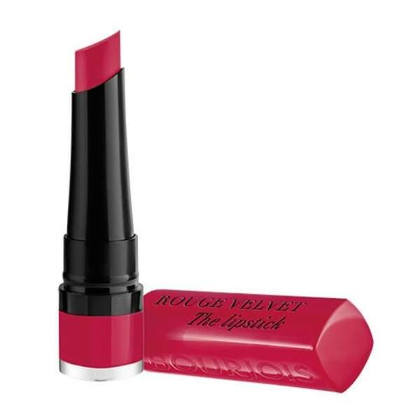 Rouge Velvet the Lipstick, Bourjois, 13,99€