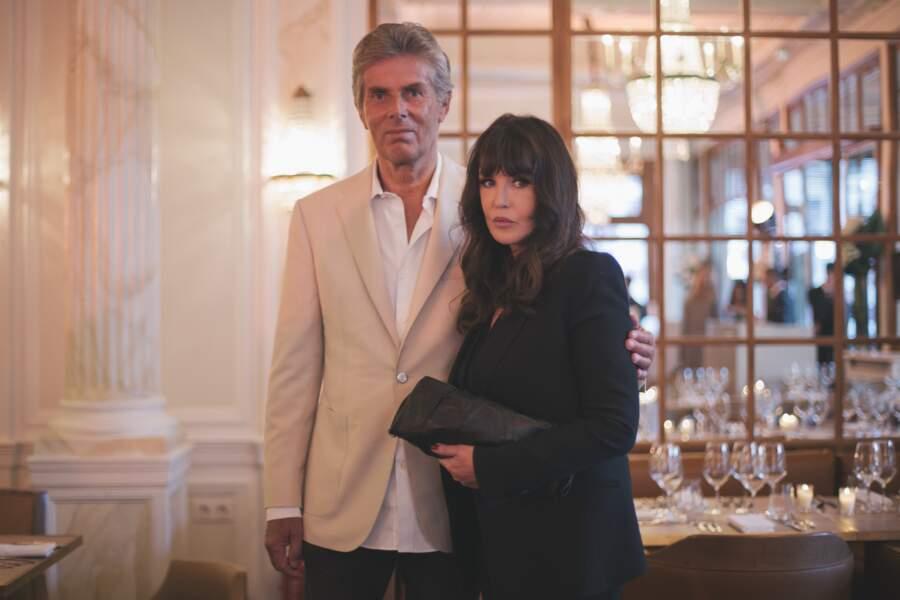 Dominique Desseigne et Isabelle Adjani