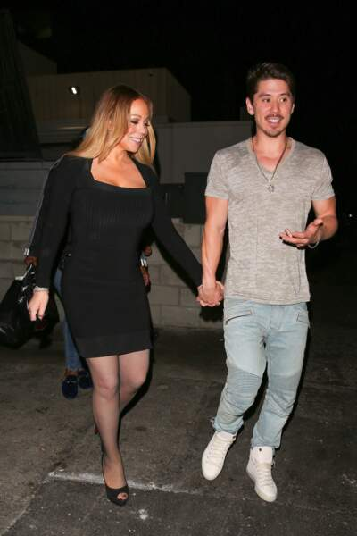 Mariah Carey et son compagnon Bryan Tanaka sont allés dîner à Beverly Hills