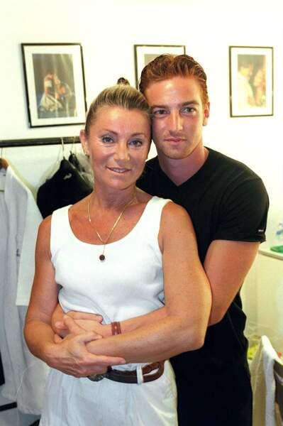 Sheila et son fils, Ludovic Chancel au festival de Ramatuelle
