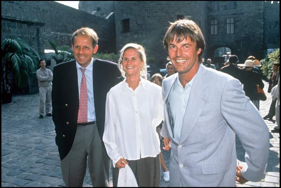 PPDA, Nicolas Hulot et Isabelle Patissier à Saint Malo en 1993