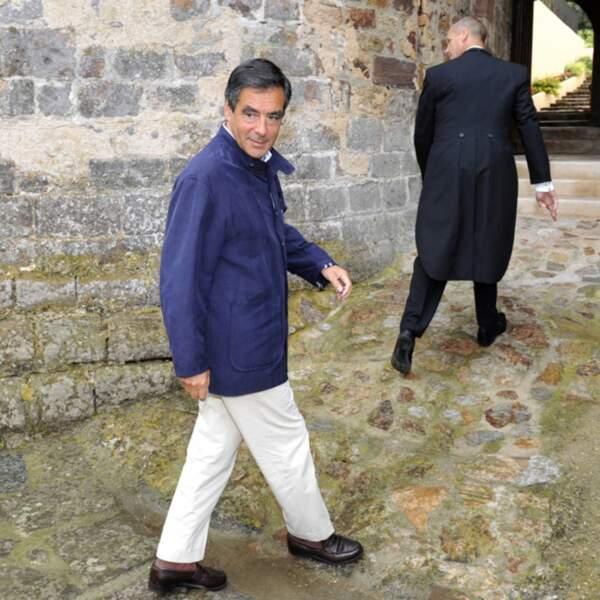En 2010, François Fillon faisait jaser avec son style décontracté à Brégançon