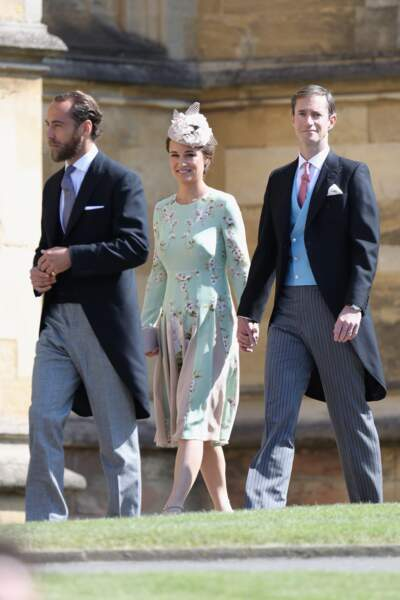 Pippa Middleton bien entourée
