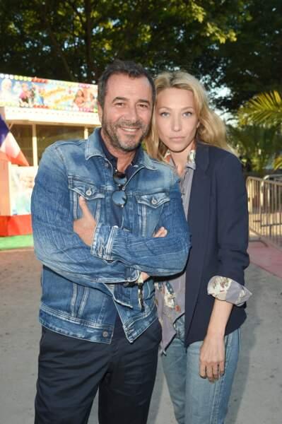 Bernard Montiel et Laura Smet à la Soirée d'inauguration de la 35ème fête foraine des Tuileries