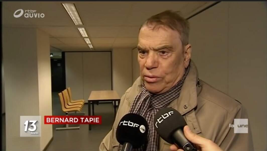 Bernard Tapie malade, il fait face à la justice
