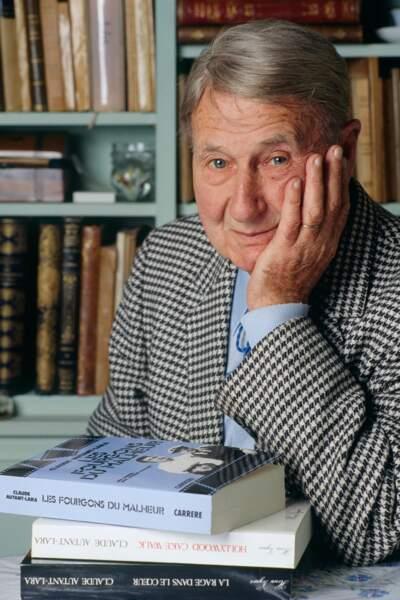 Le réalisateur Claude Autant-Lara (décédé le 5 février 2000)