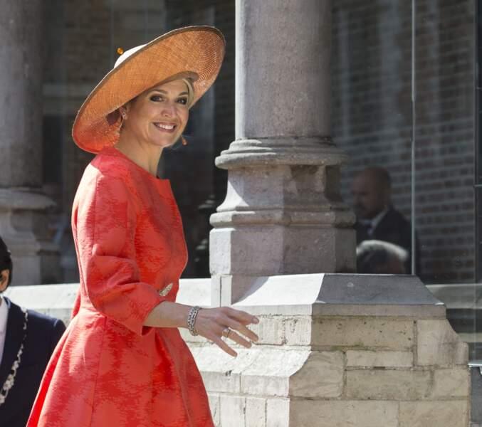 La reine Maxima des Pays-Bas à Middelburg, avril 2016                        Photo by Michel Porro/WireImage