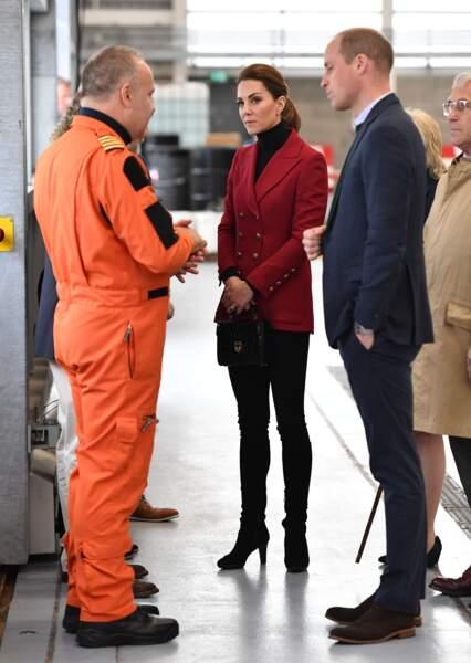 Le duc et la duchesse de Cambridge les ont notamment interrogés sur leurs séquelles psychologiques