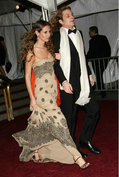 Andrea Casiraghi et sa future femme Tatiana Santo Domingo très chics au Met Gala en 2006