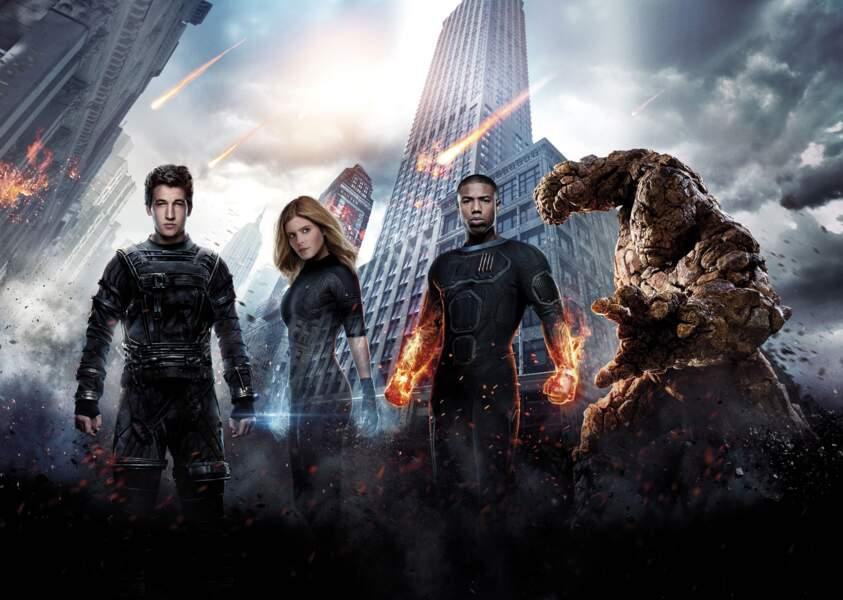 Les 4 Fantastiques ou l'histoire d'une bande d'amis utilisée par le gouvernement pour faire usage de ses pouvoirs.