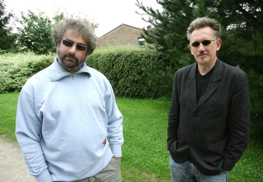 Gustave Kerverne et Benoît Delépine