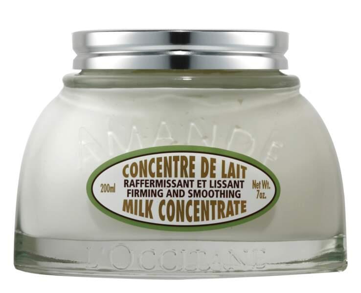 Crème Concentrée de Lait à l'Amande de l'Occitane, sa préférée