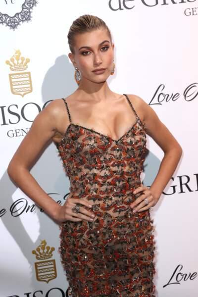 très sexy à la soirée De Grisogono le 23 mai 2017