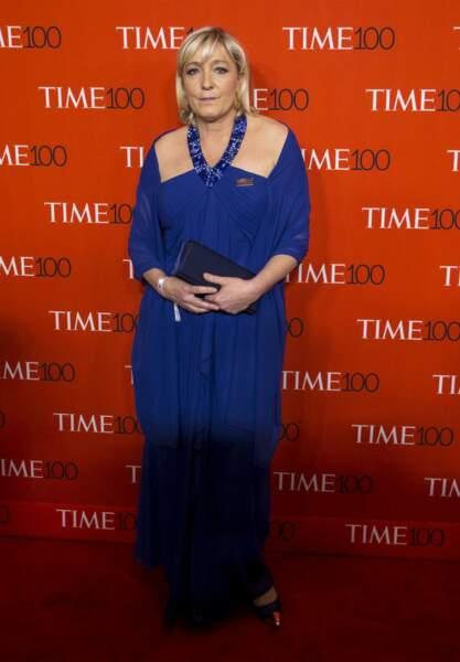 Lors du gala du Time en 2016 à New York