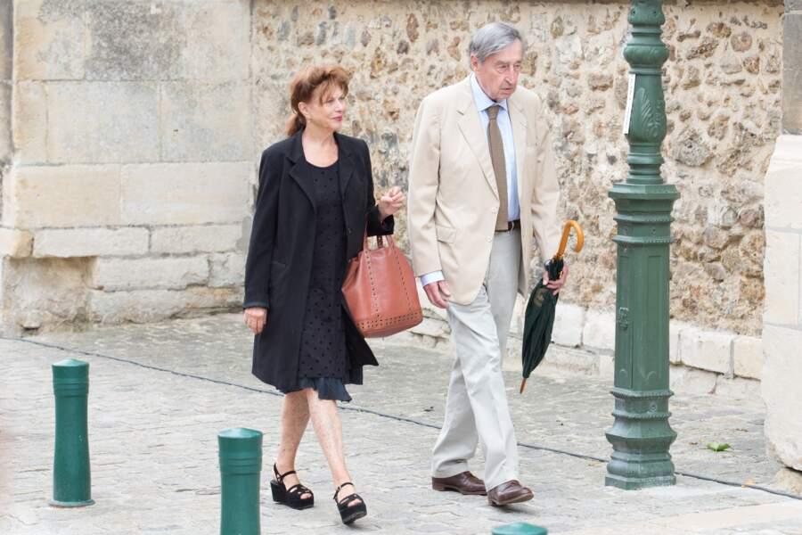 Pierre Vernier et sa compagne