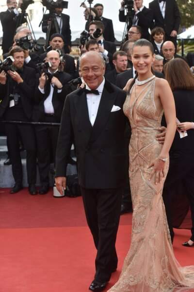 Bella Hadid pour l'ouverture du 69ème Festival International du Film de Cannes