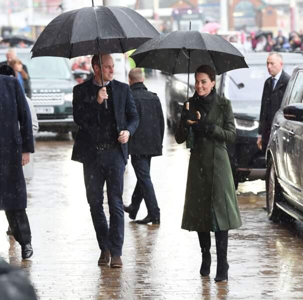 """Kate Middleton et le prince William en visite à la """"Blackpool Tower"""""""