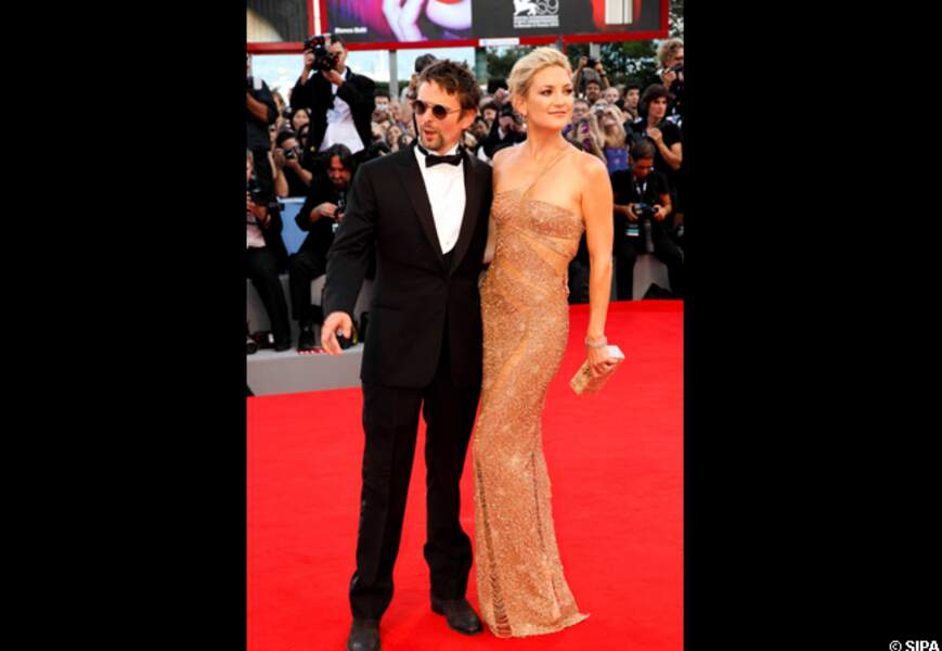 Matthew Bellamy et Kate Hudson