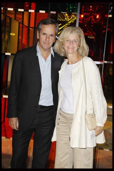 Bernard de la Villardière et son épouse Anne pour les 25 ans de Paris Première