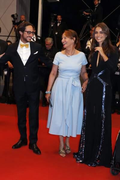Ségolène Royal, son fils Thomas Hollande et guests