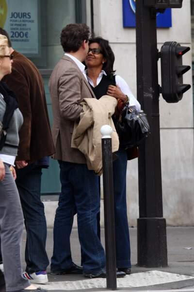 Arnaud Montebourg et Audrey Pulvar