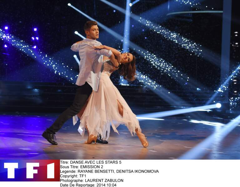 """Rayane Bensetti, associé à Denitsa Ikonomova, remporte la saison 5 de """"DALS"""", en 2014"""
