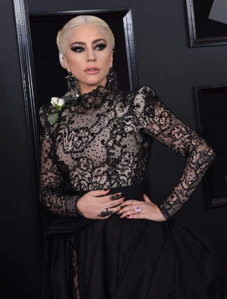 Lady Gaga à la 60ème soirée annuelle des Grammy Awards