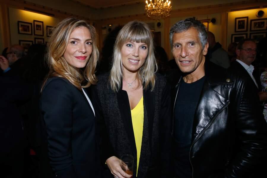 Judith El Zein, Mélanie Page et Nagui