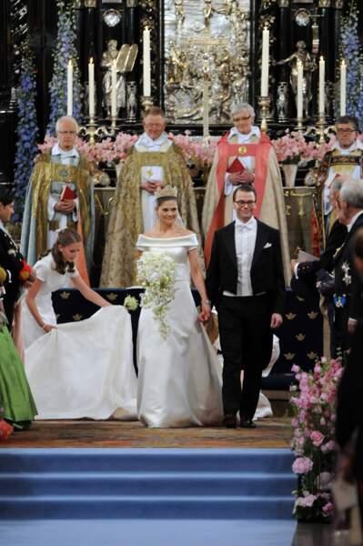 Mariage Victoria de Suède et Daniel Westling, en 2010