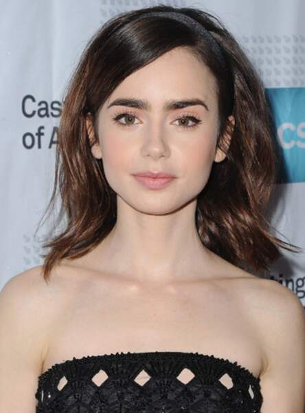 Le fard rose comme Lily Collins