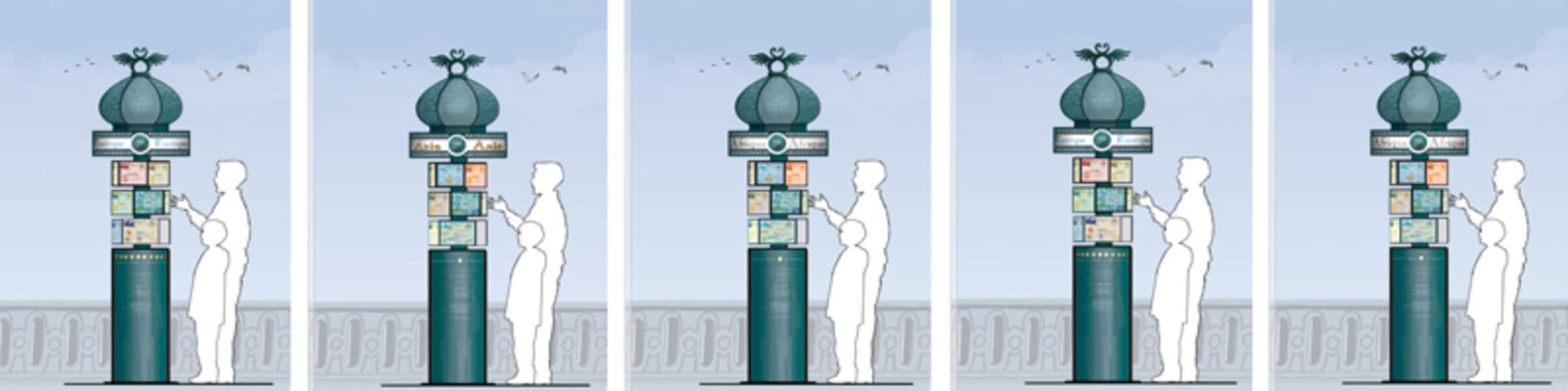 Le projet du méridien de l'amour à Cabourg