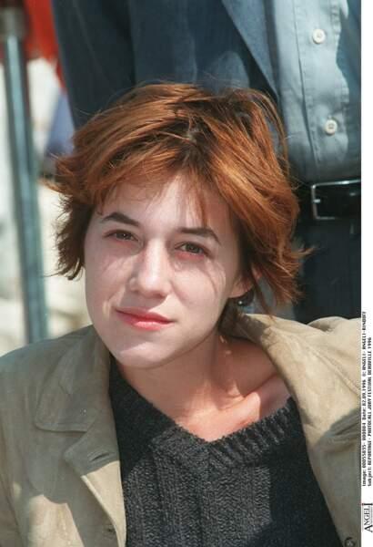 Charlotte Gainsbourg à 20 ans environ