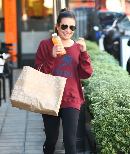 Lea Michele alterne les phases véganes et végétariennes