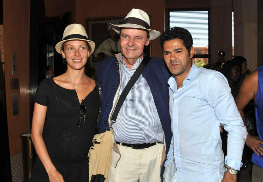 Jamel Debbouze et Mélissa Theuriau entourent Alain de Greef