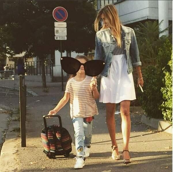 Alexandra Rosenfeld et sa fille Ava