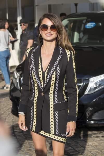 Penelope Cruz en robe courte Chanel