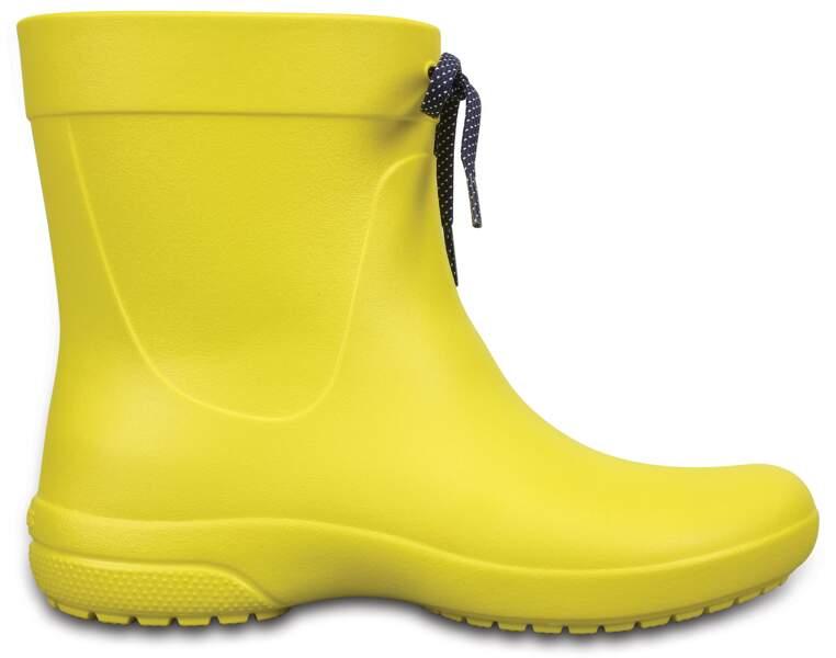 Flashy, bottes de pluie, 44,99 € (Croc's).