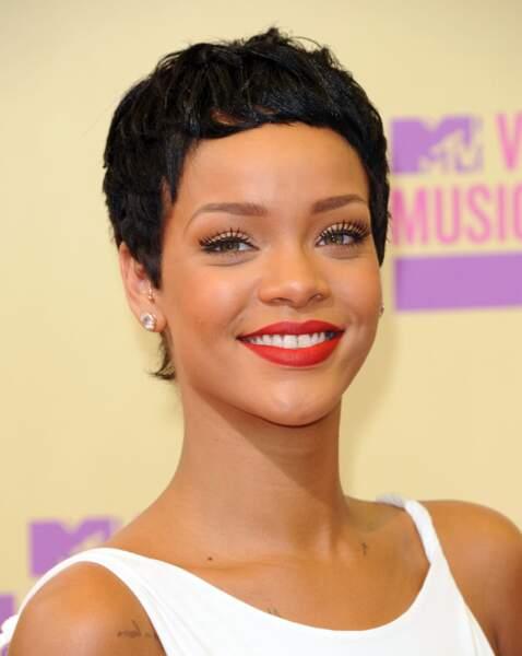 Rihanna lors des MTV Music Awards 2012 à Los Angeles