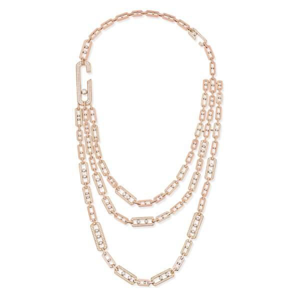 Le collier Sautoir Move High Jewellery Addiction, Messika by Gigi Hadid : une folie !