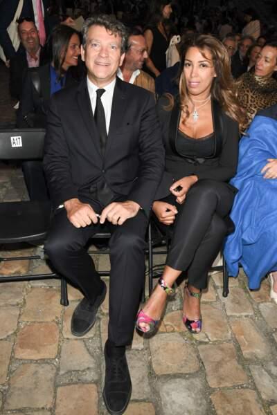 Arnaud Montebourg était fier de s'afficher aux côtés de sa nouvelle compagne Amina Walter