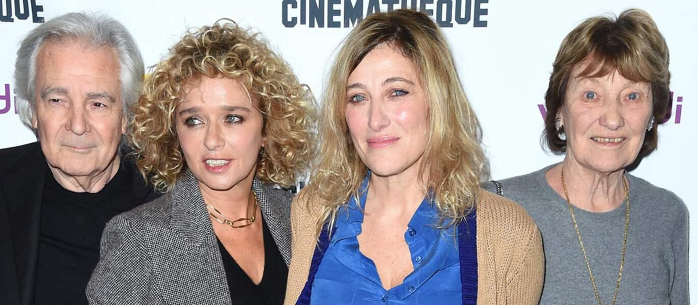 Les actrices ont posé lors de l'avant-première du film, à la Cinémathèque de Paris, le 21 janvier.