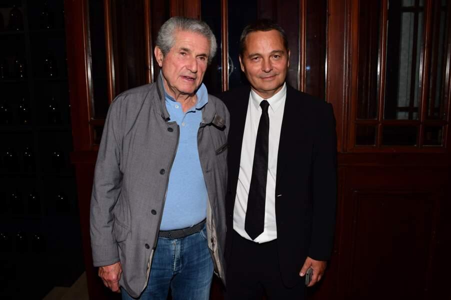 Claude Lelouch et Bruno Barde (directeur du Festival du Film Américain de Deauville)